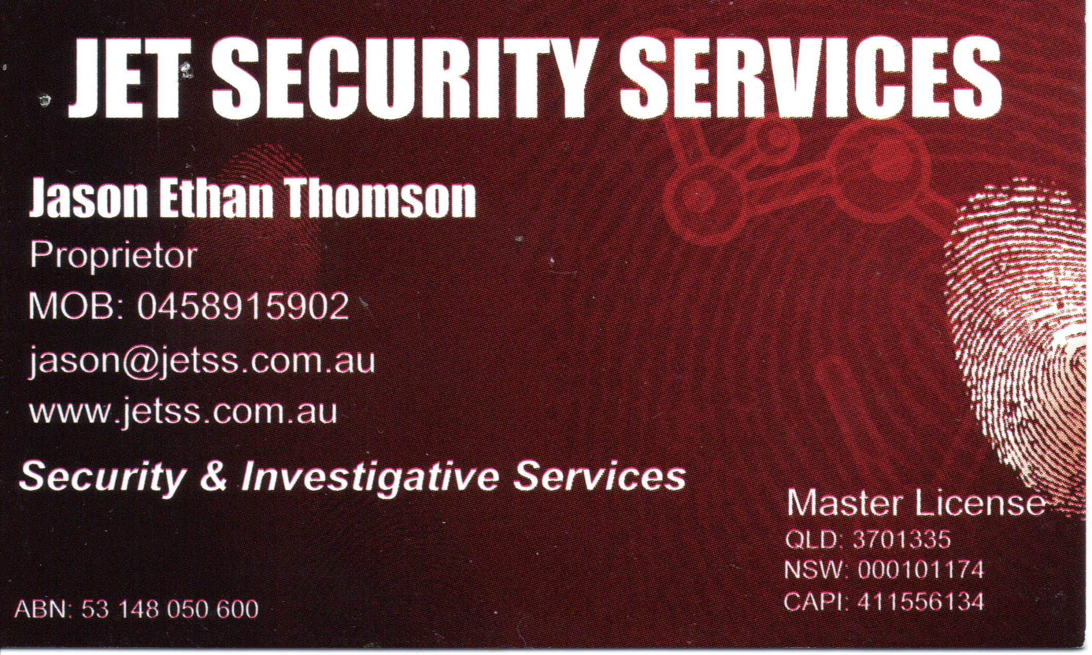 Jet Security Services