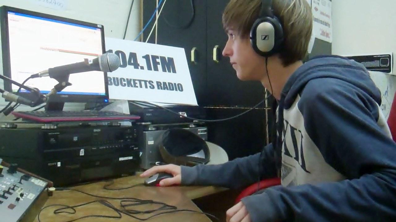 Jasper in the Studio